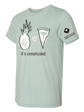 """Adult """"It's Complicated"""" Tee"""